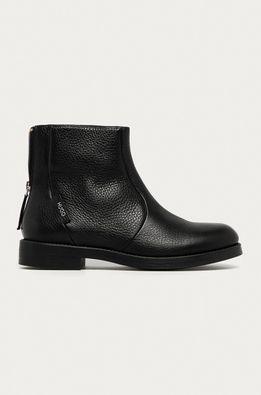 Hugo - Kožené členkové topánky