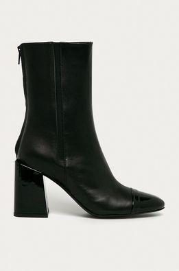 Furla - Kožené členkové topánky Block