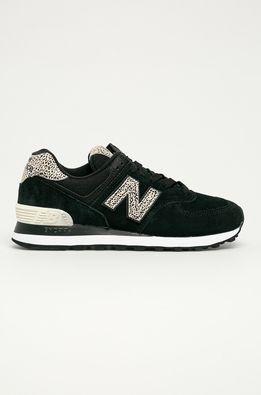 New Balance - Kožená obuv WL574ANC