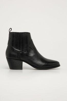 Levi's - Kožené kovbojské topánky