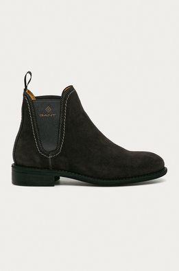 Gant - Semišové topánky Chelsea Ainsley