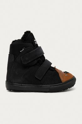 Mrugała - Pantofi din piele intoarsa pentru copii