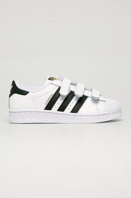 adidas Originals - Dětské kožené boty Superstar