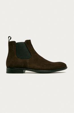 Vagabond - Kožené topánky Chelsea Harvey