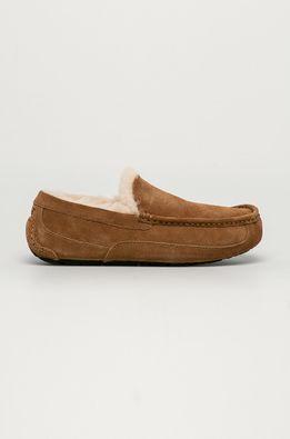 UGG - Kožené papuče Ascot