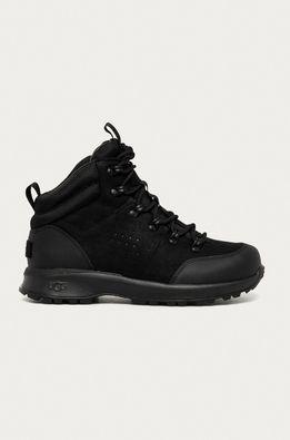 UGG - Kožená obuv Emmett Boot Mid