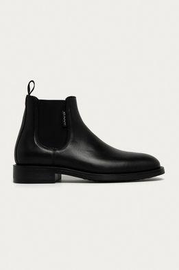 Gant - Kožené topánky Chelsea Brockwill
