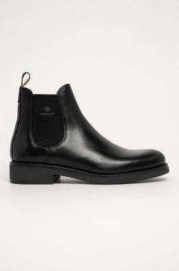 Gant - Kožené topánky Chelsea Brookly