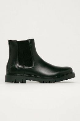 Trussardi Jeans - Kožené topánky Chelsea