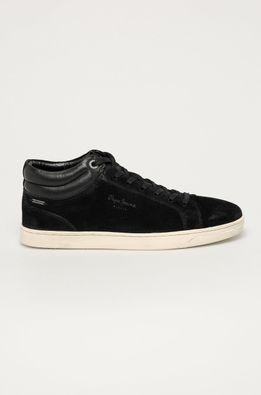 Pepe Jeans - Pantofi de piele intoarsa Basic