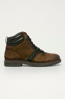 Pepe Jeans - Pantofi de piele intoarsa Hubert Mountain