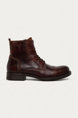 Mustang - Kožené topánky
