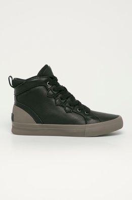 Sorel - Kožená obuv Caribou Sneaker Mid WP