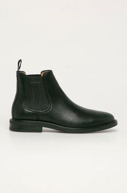 Gant - Kožené topánky Chelsea St Akron
