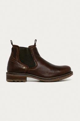 Wrangler - Kožené topánky Chelsea