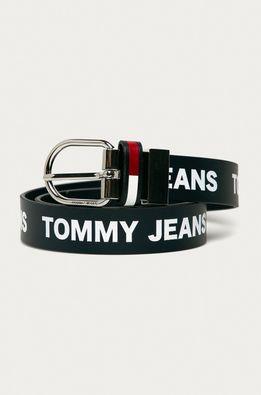 Tommy Jeans - Obojstranný kožený opasok