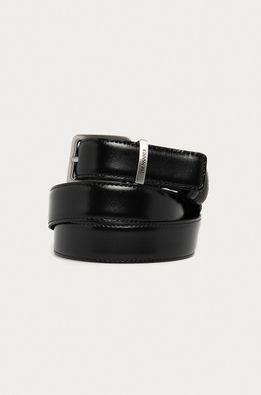 Trussardi Jeans - Obojstranný kožený opasok