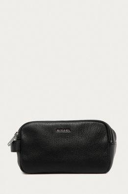 Diesel - Кожена козметична чанта