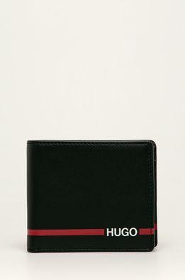 Hugo - Kožená peněženka + klíčenka