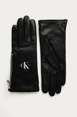Calvin Klein Jeans - Kožené rukavice