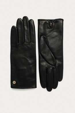Tommy Hilfiger - Кожени ръкавици