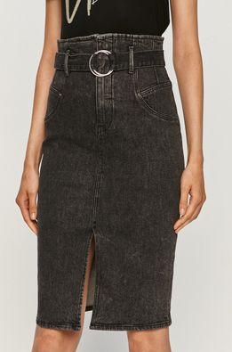 Guess Jeans - Rifľová sukňa