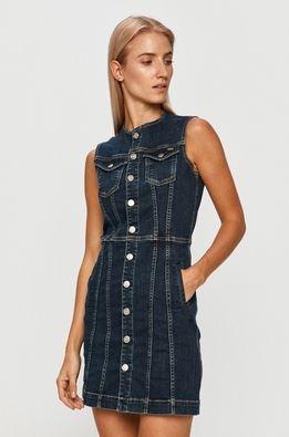 Pepe Jeans - Rochie jeans Linea