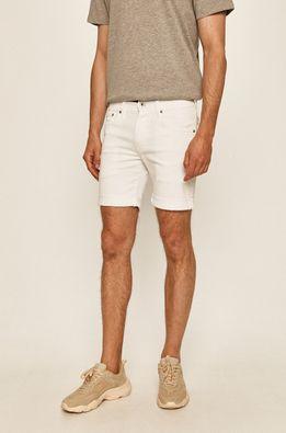 Pepe Jeans - Rifľové krátke nohavice Cane Short Pride