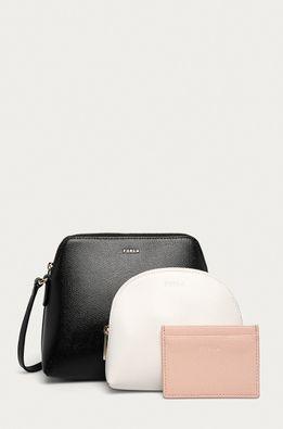 Furla - Кожена чанта Boheme