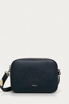 Furla - Кожена чанта Block Mini
