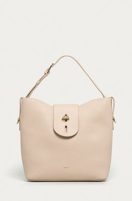Furla - Кожена чанта Net