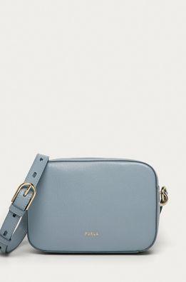 Furla - Кожена чанта Block