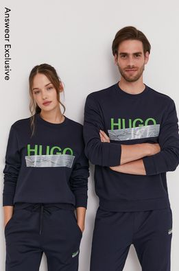 Hugo - Хлопковая кофта из коллекции к 10-летию ANSWEAR
