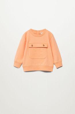 Mango Kids - Dětská bavlněná mikina Paulo 80-104 cm