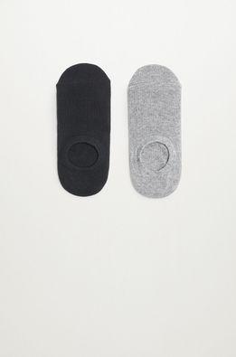 Mango Kids - Detské ponožky PINKO (2-pak)