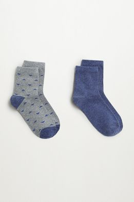 Mango Kids - Detské ponožky TRIANGLE (2-pak)