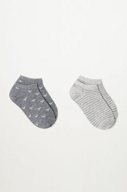 Mango Kids - Detské ponožky BIRDS (2-pak)
