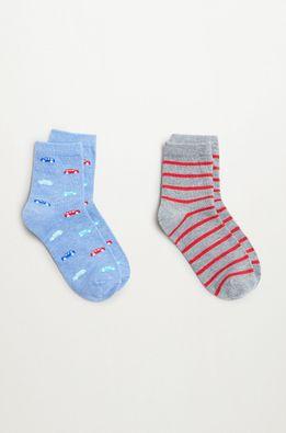 Mango Kids - Detské ponožky CARS (2-pak)