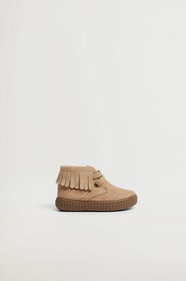 Mango Kids - Детские кожаные ботинки AMAIA