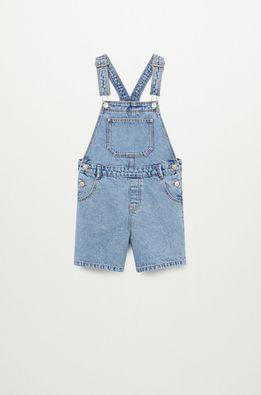 Mango Kids - Dětské kalhoty na šle Amalia 110-164 cm