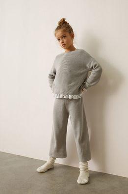 Mango Kids - Dětské kalhoty MARTINA