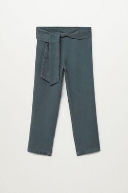 Mango Kids - Dětské kalhoty Amelie 110-164 cm