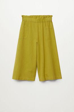 Mango Kids - Pantaloni copii Harper 116-164 cm