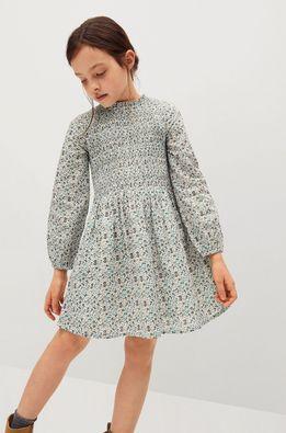 Mango Kids - Детска рокля Blume 116-164 cm