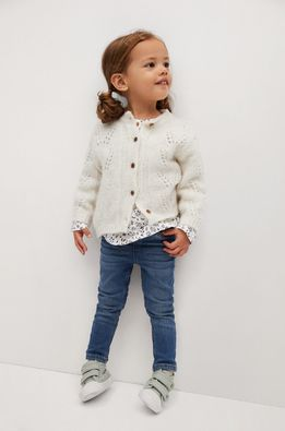 Mango Kids - Cardigan copii TINA