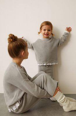 Mango Kids - Детски пуловер MINIMIXY