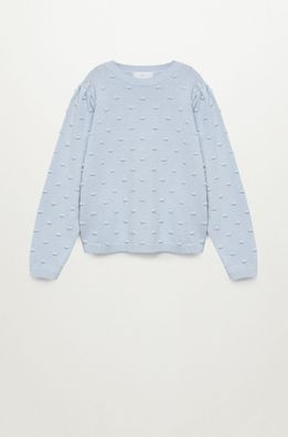 Mango Kids - Детски пуловер Pompa 116-164 cm