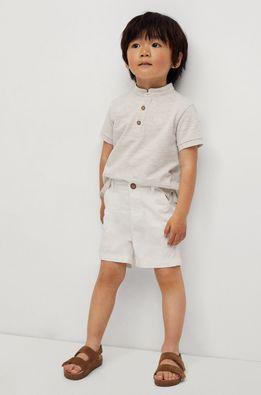 Mango Kids - Pantaloni scurti copii Berachi-I 80-104 cm