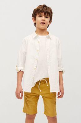 Mango Kids - Pantaloni scurti copii Calatea 110-164 cm