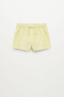 Mango Kids - Pantaloni scurti copii CAMILA